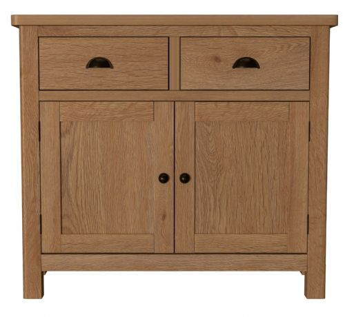 Richmond Rustic Oak 2 Door Sideboard